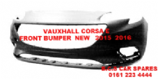 VAUXHALL CORSA  E   FRONT BUMPER   NEW   2015  2016    NEW NEW